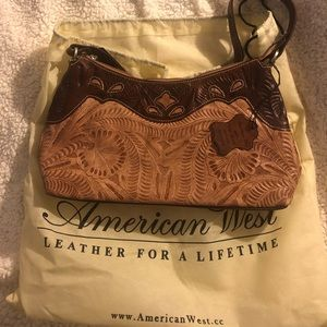 American West Purse with carrying bag